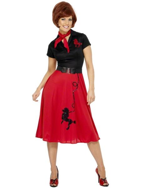 Dámské Retro šaty s pudlem - Dárky pro muže i ženy 56d2ad068a