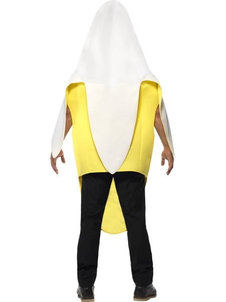 05bb0b95f6d Úvod   Karnevalové kostýmy   Klaunské a vtipné kostýmy   Kostým Oloupnutý  banán. Originální kostým banánu tvořený kombinézou s otvory na ruce a  obličej.